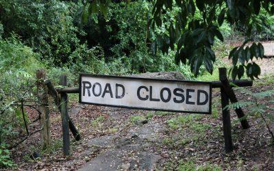 Roadblocks: God Uses Roadblocks and Detours to Lead Us Back on Track