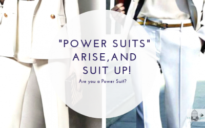 "It's Time for the Spiritual ""Power Suits"" Arise and Suit Up"