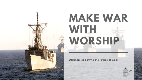 worship, weapon of spiritual warfare, praise, God, Jesus
