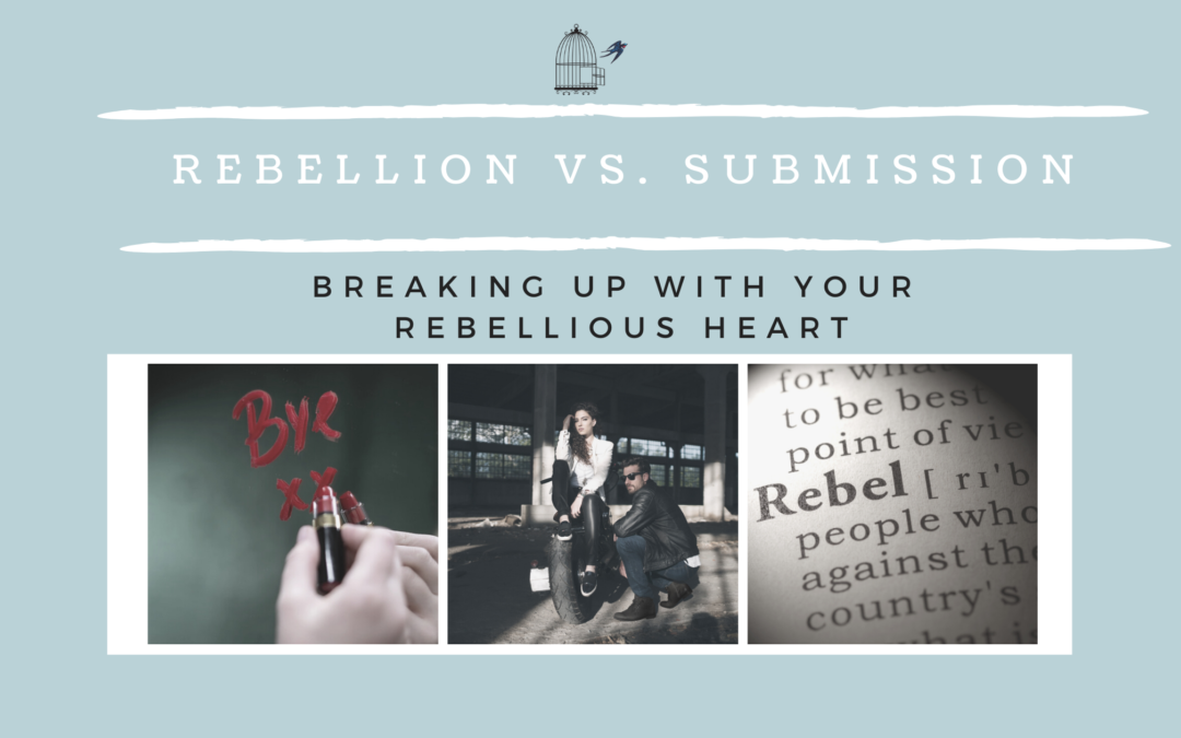 Rebellion Vs. Submission: Breaking Up with Your Rebellious Heart
