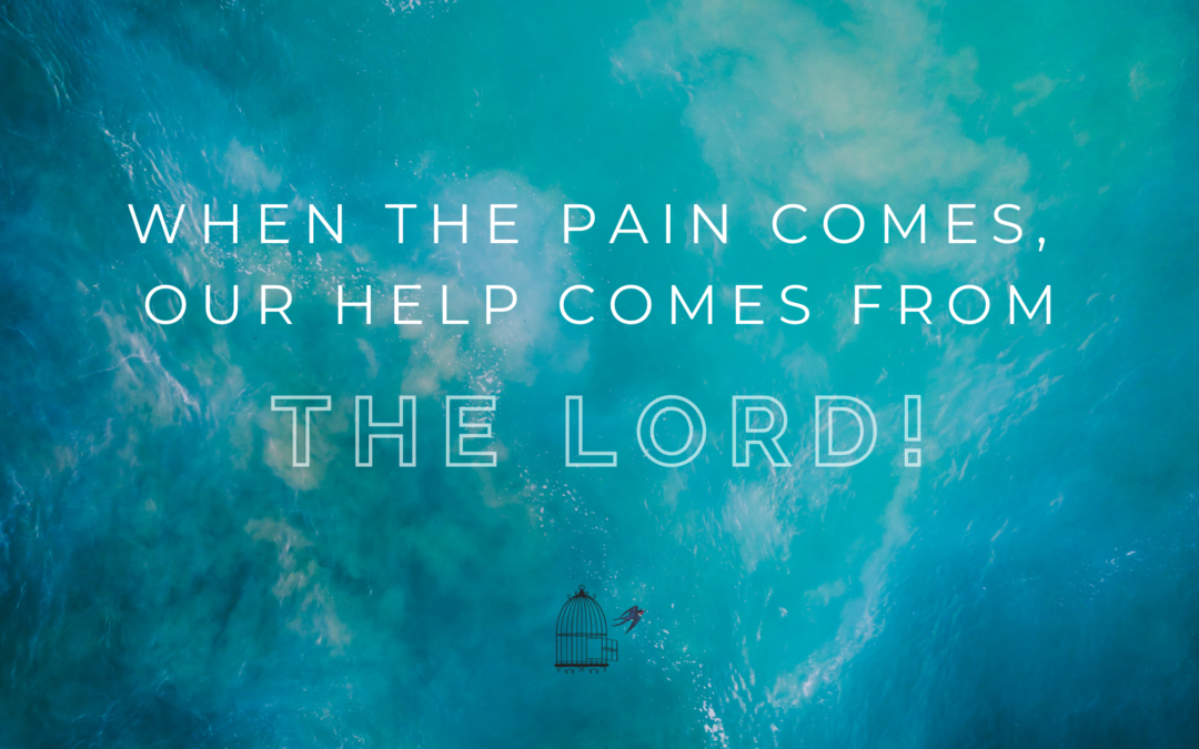 When the Pain Comes, Our Help Comes from the Lord